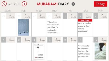 Murakami-Calendar